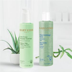 Mary Cohr Body Care Set (Easy Gentle Scrub 300ml + Intense Skin Softening Milk 300ml)