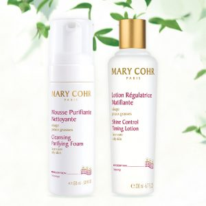 Cleansing & Purifying Duo [Cleansing Purifying Foam(150ml)+Shine Control Toning Lotion(200ml)]